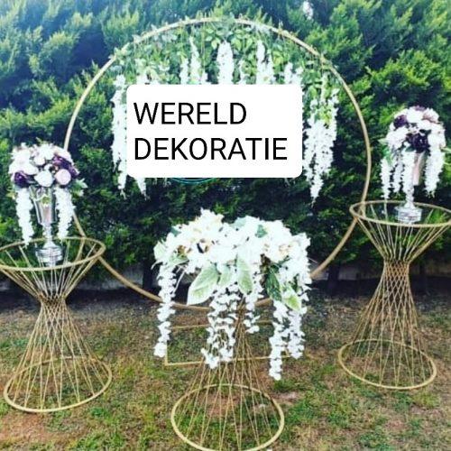 Bruiloft Zaaldecoratie Wereld Decoratie